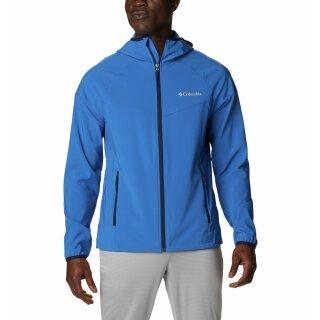 Columbia Mens Heather Canyon Softshell Jacket Bright Indigo
