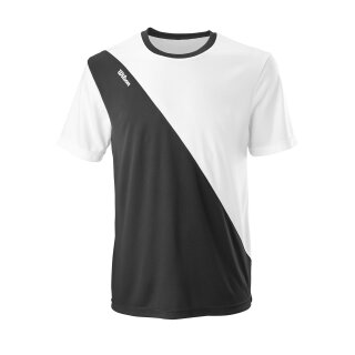 Wilson Mens Team II Crew Shirt  - Black