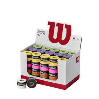 Wilson Ultra Overgrip Box 60 Pack Various Colors