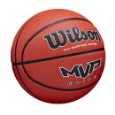 Wilson MVP Elite Basketball Size 7 - Brown