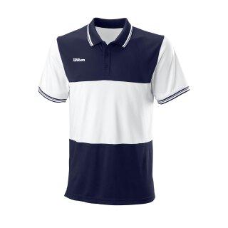 Wilson Mens Team II Polo Shirt - Team Navy