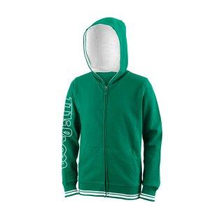 Wilson Youth Team II Full Zip Hoodie - Team Green