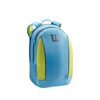 Wilson Junior Backpack - Blue/Lime Green/Navy