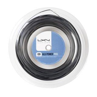 Luxilon Alu Power 120 Tennis String - 200m Reel - Grey