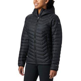 Columbia Powder Light Hooded Jacket Freizeit Jacke - Damen - Black