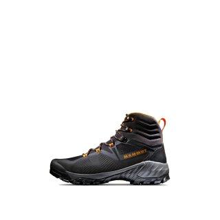 Mammut Sapuen High GTX Mens Hiking Shoes - Black/Dark Radiant