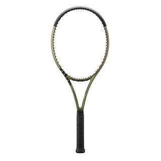Wilson Blade 100L V8 - Tennis Racket 16x19 285g - Metallic Green Metallic Brown