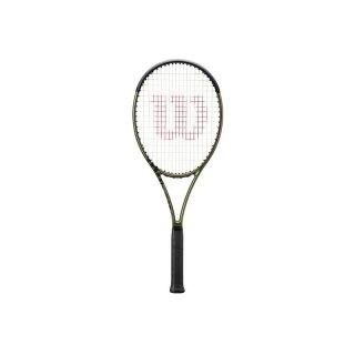 Wilson Blade 98S V8 - Tennis Racket 18x16 295 g - Metallic Green Metallic Brown