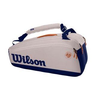 Wilson Roland Garros Premium 9 Pack - Tennis Bag - Oyster Navy