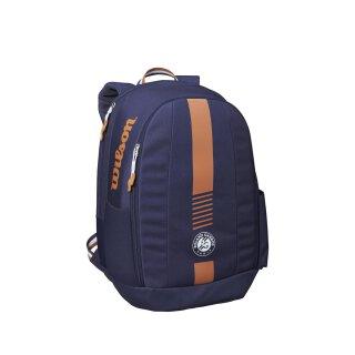 Wilson Roland Garros Team Backpack - Tennis Backpack - Navy Clay