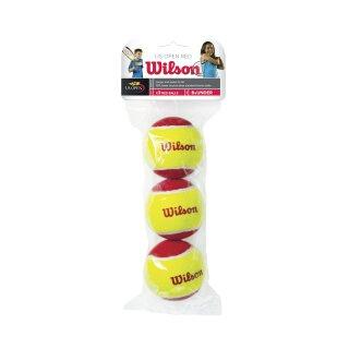 WILSON STARTER RED TBALL 3er Pack