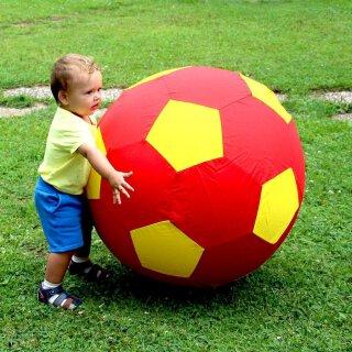 Riesen Ballon Ball Nylon Kindertraining Warm-up - 75 cm - Rot Gelb