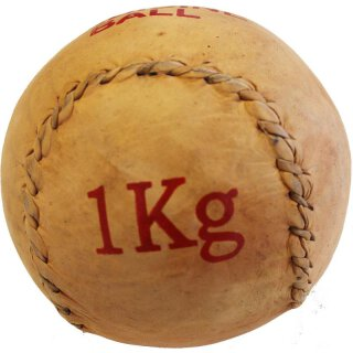 Medicine Ball Leather 1 kg