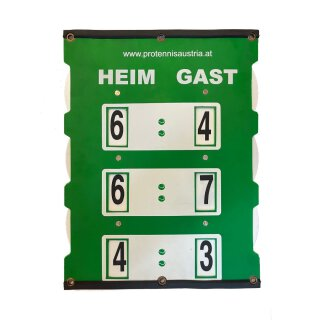 TENNIS SCOREBOARD POINTER FOR MATCH M