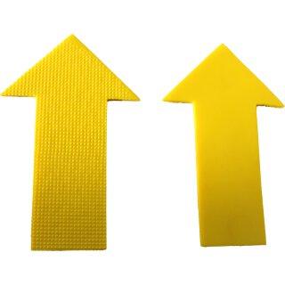 Pfeil Ziel Target Markierung - 1 Stück - Gelb