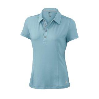 Wilson Classic Polo Shirt - Damen - Wasserblau