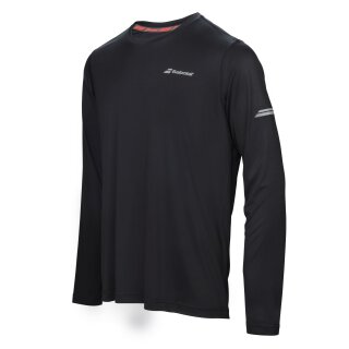 BABOLAT CORE LS TEE MEN Black