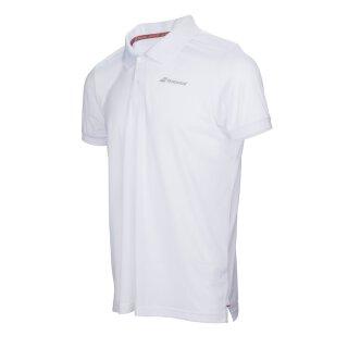 Babolat Core Club Polo Shirt - Herren - Weiß