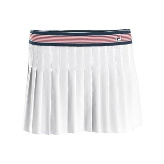 Fila Skirt Saffira Tennis Falten Rock - Damen - Weiß