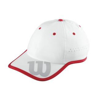 WILSON BASEBALL HAT White/Red