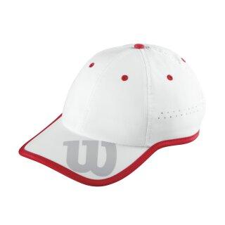 Wilson Baseball Hat Cap Kappe - Weiß Rot