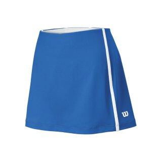 Wilson Team Skirt 12.5 Tennis Rock - Damen - Blau