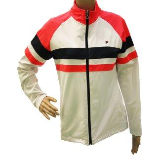 Fila Jacket Jolie Trainingsjacke - Damen - Weiß Rot Blau