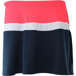 Fila Skirt Sherri Tennis Rock - Damen - Marineblau Diva Pink