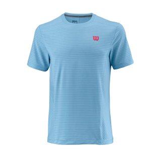 Wilson UwII Linear Crew T-Shirt - Herren - Hellblau