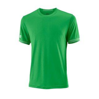 Wilson Team Crew Shirt Solid - Herren - Grün