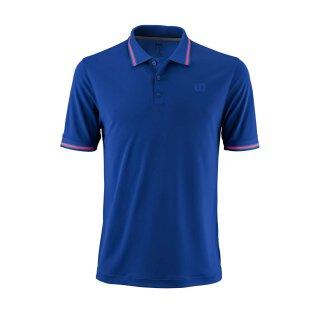 Wilson Star Tipped Polo Shirt - Herren - Maz Blau