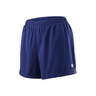 Wilson Team Short 3.5 Tennis Hose - Damen - Blau