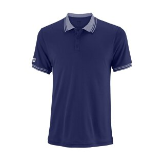 Wilson Team Polo Shirt - Herren - Blau