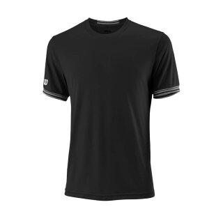 Wilson Team Crew Shirt Solid - Herren - Schwarz