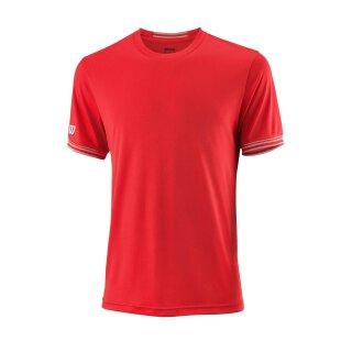 Wilson Team Crew Shirt Solid - Herren - Rot