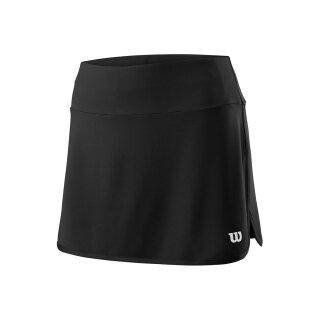 Wilson Team Skirt 12.5 Tennis Rock - Damen - Schwarz