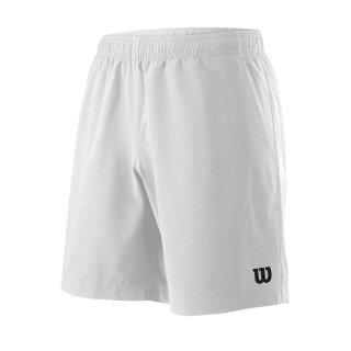 Wilson Team Short 8 Tennis Hose - Herren - Weiß