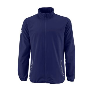WILSON TEAM WOVEN JACKET M Blue Depth