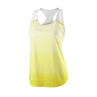 Wilson Team Tank Striped - Damen - Gelb Weiß