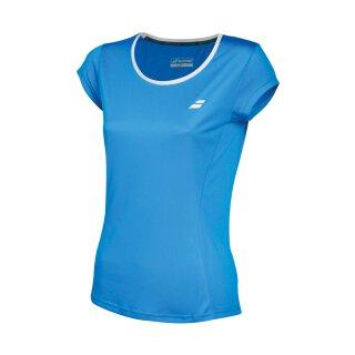 Babolat Core Flag Club Tee Shirt - Damen - Blau
