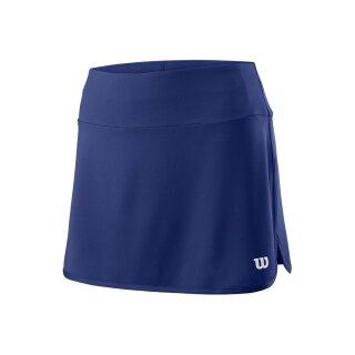 Wilson Team Skirt 12.5 Tennis Rock - Damen - Dunkelblau