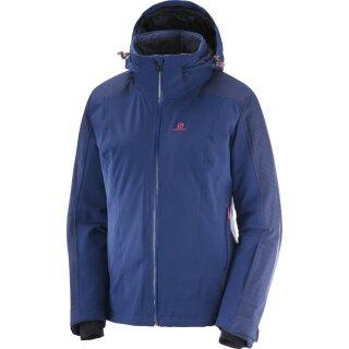 Salomon Brilliant Jacket Skijacke - Damen - Blau
